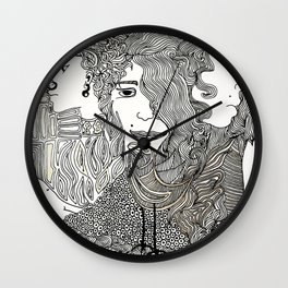 Ages Wall Clock