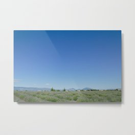 Valensole Mountains Metal Print