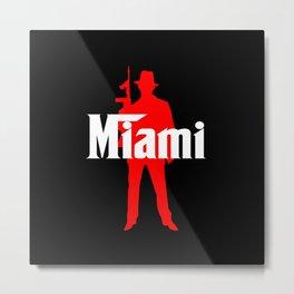Miami mafia Metal Print