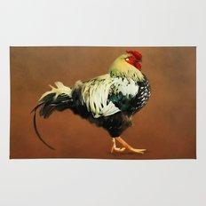 Mr Rooster Rug
