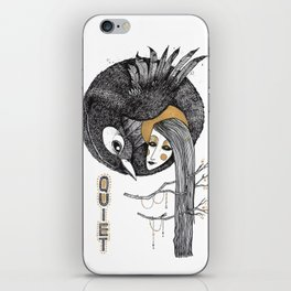 BIRD WOMEN 4 iPhone Skin