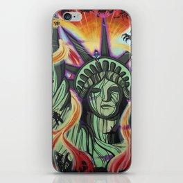 Imagination Emancipation iPhone Skin