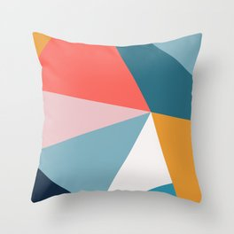 Modern Geometric 34 Throw Pillow
