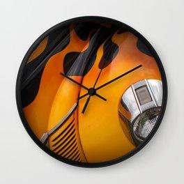 Hot Rod'n Wall Clock