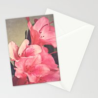 Strawberry Flowers Stationery Cards