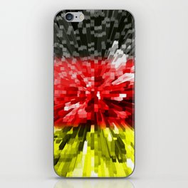 Extruded Flag of Germany iPhone Skin
