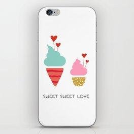 Ice Cream lovers iPhone Skin