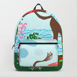 Painting for kids -The donkey Backpack