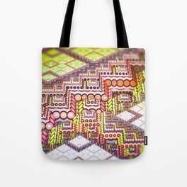 infrastructure II. Abstract Design Tote Bag