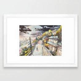 Bicycle Boy 08 Framed Art Print