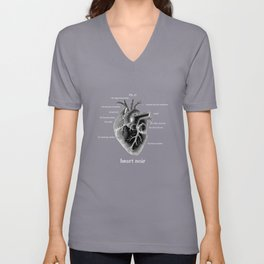 Fig. 37 Heart Noir No. 2 Unisex V-Neck