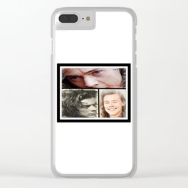 Harry Styles, One Direction, 1D, 1dFanArt Clear iPhone Case