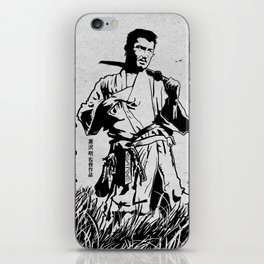 Seven Samurai iPhone Skin