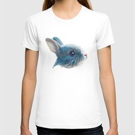 cute bunny illustration T-shirt