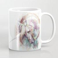unicorn Mugs featuring Unicorn by beart24