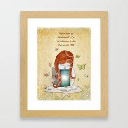 Light within you Framed Art Print