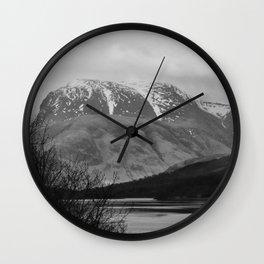 Ben Nevis Scottish Highlands Wall Clock
