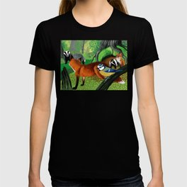 Of foxes and badgers T-shirt