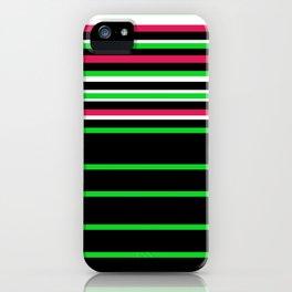 Bright Stripes II iPhone Case