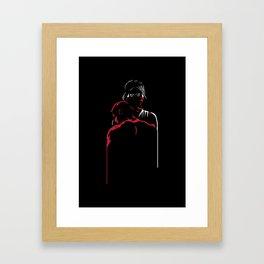 Devil's Heartbeat Framed Art Print