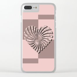 Valentine's day 2 Clear iPhone Case