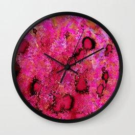 PINK BOMB Wall Clock