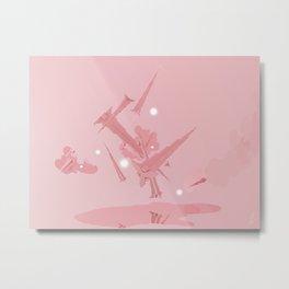 Voyage in Pink Metal Print