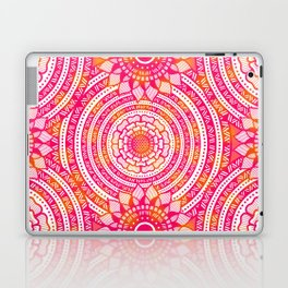 Zentangle flowers pattern Laptop & iPad Skin