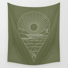 Heading Out Wall Tapestry
