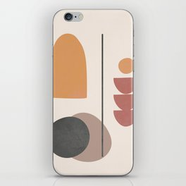 Abstract Minimal Art 02 iPhone Skin