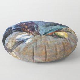 Bodegón a espátula/Natureza morta/Still life Floor Pillow
