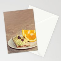 light snack Stationery Cards