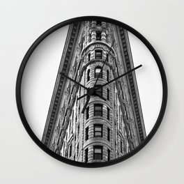 Flatiron Wall Clock