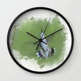 Charming Hummingbird Wall Clock