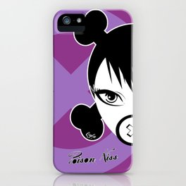 POISON KISS PURPLE iPhone Case