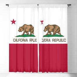 California flag - Californian Flag Blackout Curtain