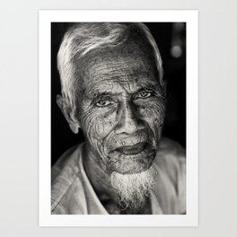 Burmese muslim Art Print