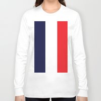 france Long Sleeve T-shirts featuring France by shannon's art space
