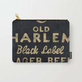 Old Harlem Lager Beer vintage advertisment poster Carry-All Pouch