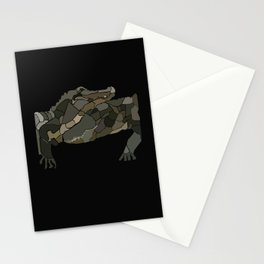 Mellifluous Crocodiles Stationery Cards
