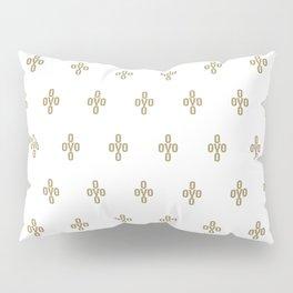 Pom Pom - White Pillow Sham