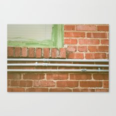 station house, subdued Canvas Print