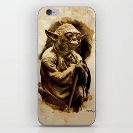 Grand Master Yoda iPhone Skin