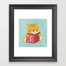 Fairy Tales, Teddy Bear Framed Art Print