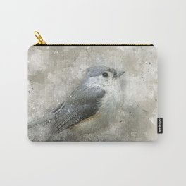 Tufted Titmouse Bird Carry-All Pouch