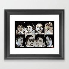 MJ Eras Framed Art Print