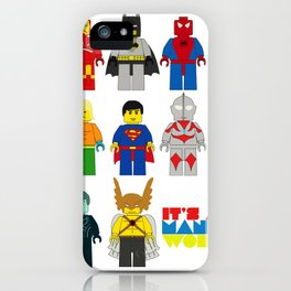 It's a man;s world iPhone Case