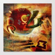 Elements VI - Radiate Canvas Print