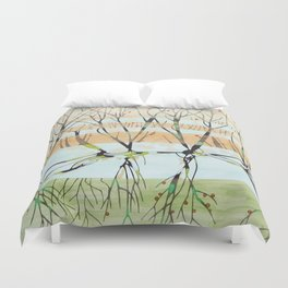 withered tree Duvet Cover