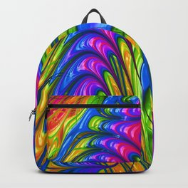 Rainbow Acid Trip Backpack